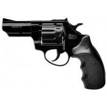 """Револьвер флобера PROFI-3"""" (чёрный / пластик)"""